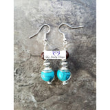 Bohemia Turquoise Earrings - Luzjewelrydesign   - 2