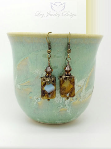 Brown Bohemia earrings