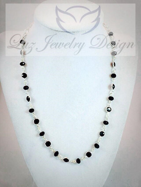 Swarovski necklace - Luzjewelrydesign   - 3