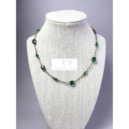 Dark Swarovski Green - Luzjewelrydesign