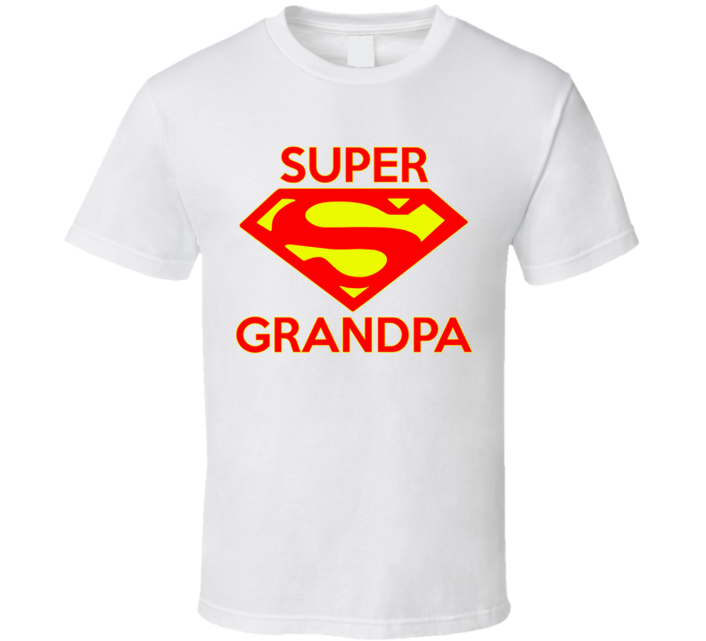 Super Grandpa T Shirt - Original James Tee  - 1