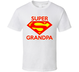 Super Grandpa T Shirt - Original James Tee