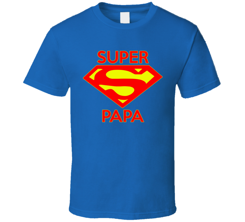 Super Papa T Shirt - Original James Tee