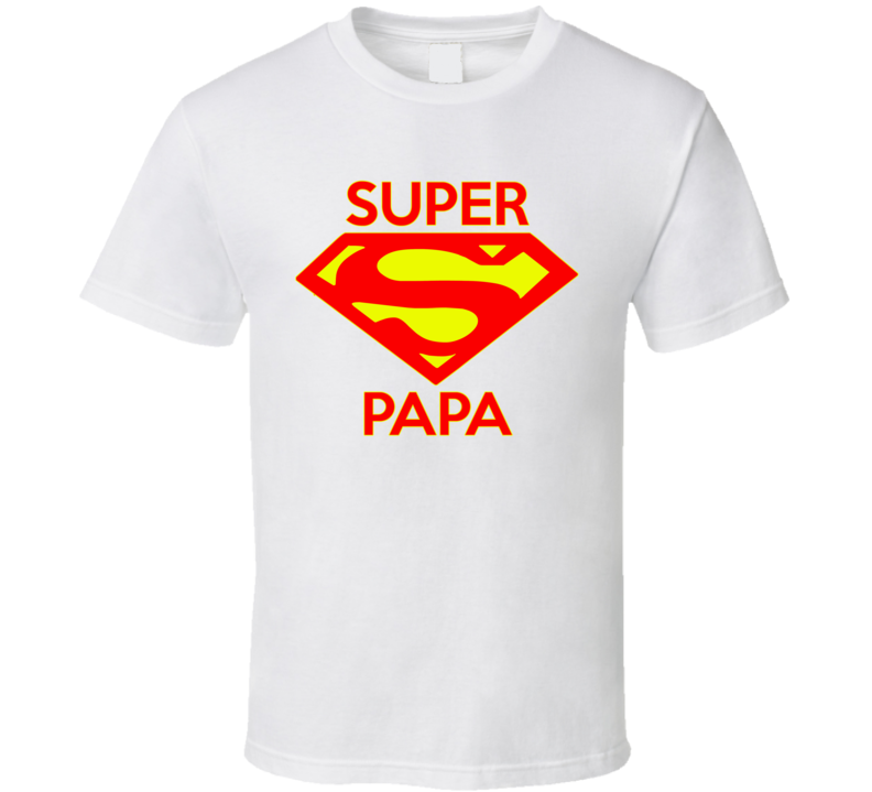 Super Papa T Shirt - Original James Tee  - 2