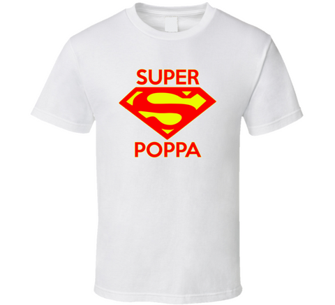 Super Poppa T Shirt - Original James Tee