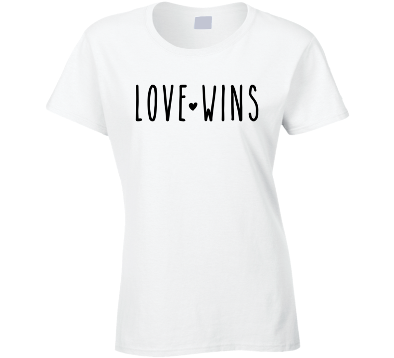 Love Wins Valentines Inspiration Human Rights T Shirt - Original James Tee  - 1
