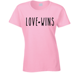 Love Wins Valentines Inspiration Human Rights T Shirt - Original James Tee