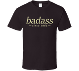 Badass T Shirt personalised with any year - Original James Tee  - 3