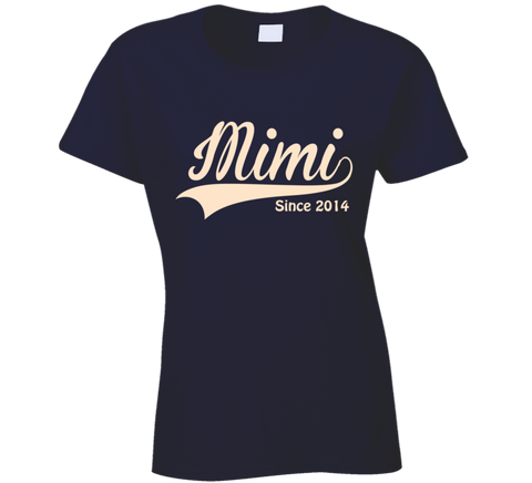 ff4251b72 ... Mimi T Shirt Since any Year Personalized Grandmother Gift - Original  James Tee ...