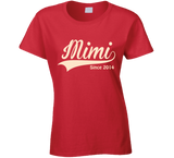 Mimi T Shirt Since any Year - Original James Tee  - 3