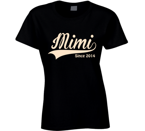 Mimi T Shirt Since any Year Personalized Grandmother Gift - Original James Tee