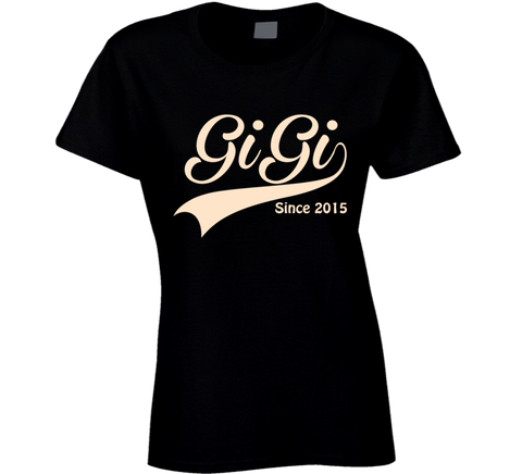 GiGi since any year. - Original James Tee