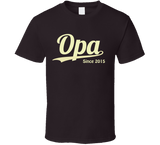 Opa Since Any Year T Shirt - Original James Tee