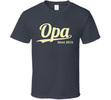 Opa Since Any Year T Shirt - Original James Tee  - 6