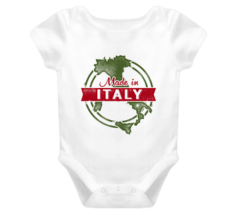 Made in Italy Baby Onesie - Original James Tee