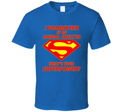 Animal Shelter Volunteer T Shirt