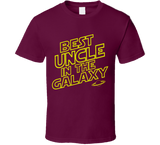 Best Uncle in the Galaxy T Shirt - Original James Tee  - 4