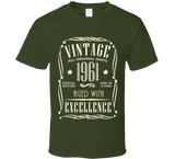 1961 T Shirt - Original James Tee  - 3