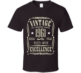 1961 T Shirt - Original James Tee  - 2