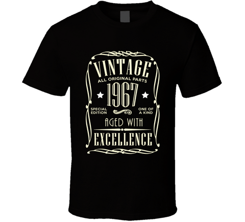 1967 Birthday Milestone T Shirt gift - Original James Tee