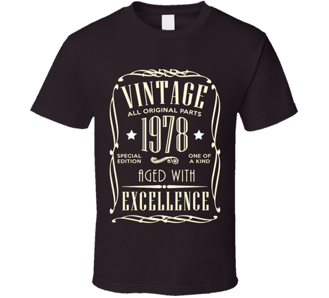 1978 T Shirt - Original James Tee