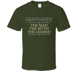 Grandaddy The Man The Myth The Legend T Shirt - Original James Tee