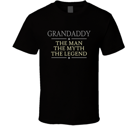 Grandaddy The Man The Myth The Legend T Shirt - Original James Tee  - 1