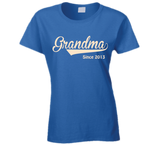 Grandma since any year T Shirt - Original James Tee  - 3