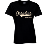 Grandma since any year T Shirt - Original James Tee  - 1