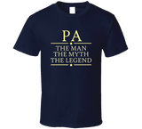Pa the Man the Myth the Legend T Shirt - Original James Tee  - 5