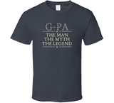 G-Pa the Man the Myth the Legend T Shirt - Original James Tee  - 1