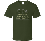 G-Pa the Man the Myth the Legend T Shirt - Original James Tee  - 5