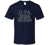G-Pa the Man the Myth the Legend T Shirt - Original James Tee  - 6