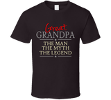 Great Grandpa the Man the Myth the Legend T Shirt - Original James Tee  - 5