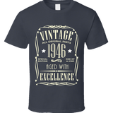 1946 Vintage T Shirt - Original James Tee  - 2
