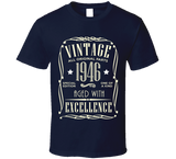 1946 Vintage T Shirt - Original James Tee  - 5