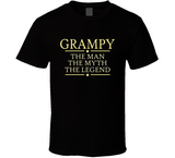 Grampy The Man The Myth The Legend T Shirt - Original James Tee