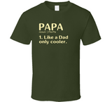 Papa Dictionary T Shirt - Original James Tee