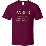 Man Myth Legend T Shirt Personalized - Original James Tee