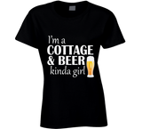 I'm a Cottage and Beer Ladies T Shirt - Original James Tee