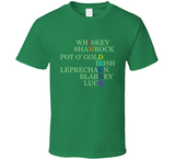 I'm Drunk Funny Whiskey Drinking Irish Green St. Patrick's Day T Shirt