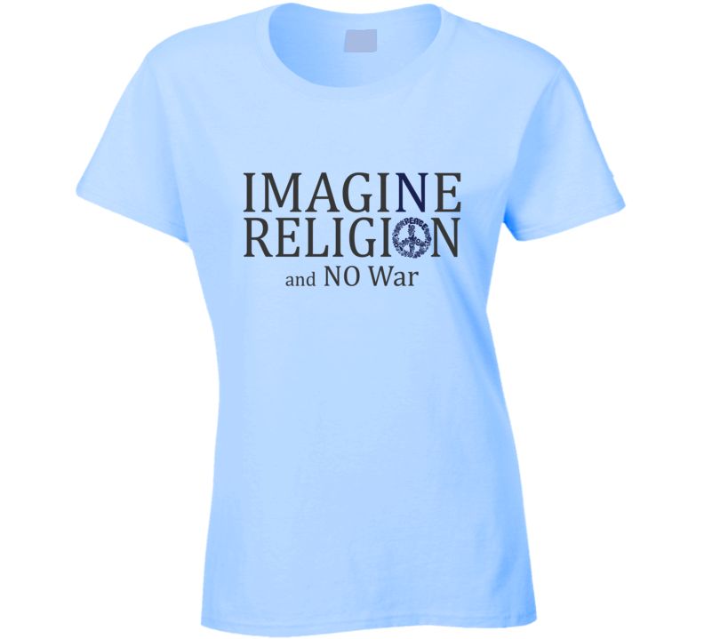 Imagine No Religion T Shirt - Original James Tee