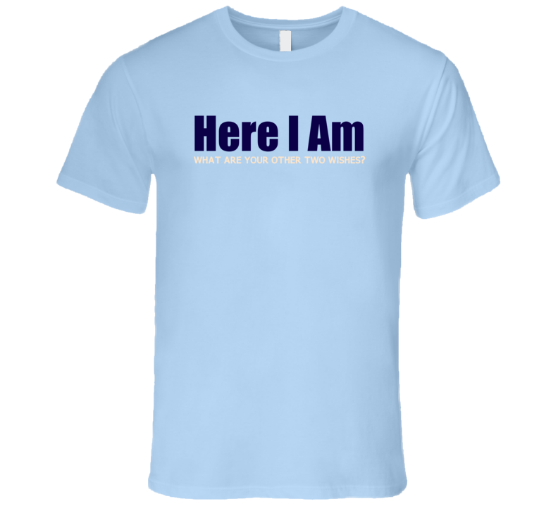 Here I Am T Shirt - Original James Tee