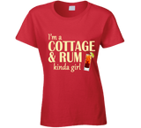 Cottage and Rum Kinda Girl T Shirt - Original James Tee