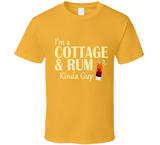 Cottage and Rum Kinda Guy T Shirt - Original James Tee  - 4