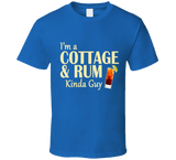 Cottage and Rum Kinda Guy T Shirt - Original James Tee  - 7