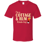 Cottage and Rum Kinda Guy T Shirt - Original James Tee  - 6