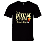 Cottage and Rum Kinda Guy T Shirt - Original James Tee  - 2