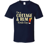 Cottage and Rum Kinda Guy T Shirt - Original James Tee  - 5