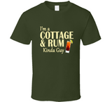 Cottage and Rum Kinda Guy T Shirt - Original James Tee